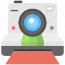 camera, instant camera, polaroid camera, print camera, professional camera icon