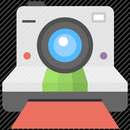 camera, instant camera, polaroid camera, print camera, professional camera icon