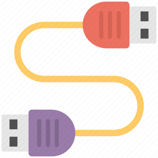 cable, hdmi cable, usb cable, usb connectors, usb ports icon