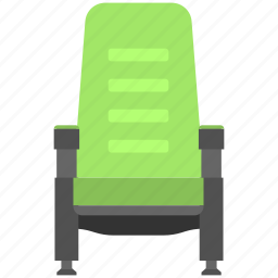 chair, director chair, furniture, seat, vintage chair icon
