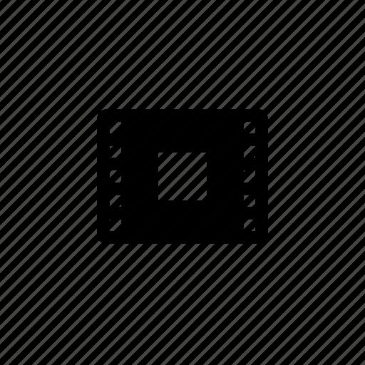 controls, film, stop icon