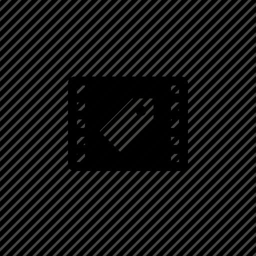 film, tag icon