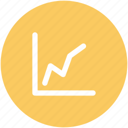 business analysis, business chart, business growth, chart, graph, growth chart icon