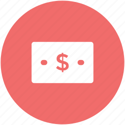 banknote, cash, currency, financial, money icon