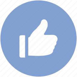 approve finger, business like, favorite, gesture, like, thumbs icon