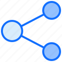connection, share, network, link, export