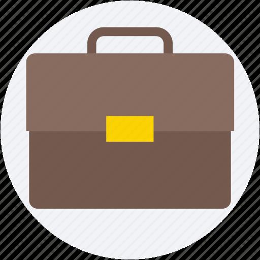 briefcase, luggage, portfolio, satchel bag, suitcase icon