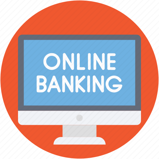 m commerce, online banking, online payment, web commerce, wireless banking icon