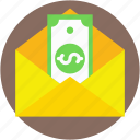 banking, banknote, envelope, money, payment