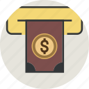 account, atm, bank, banking, bill, capital, card, cash, credit, currency, dollar, euro, finance, money icon