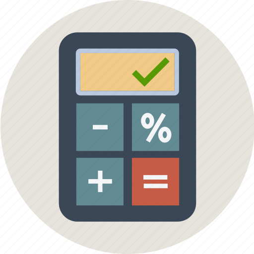 business, calculation, calculator, currency, device, dollar, euro, finance, money, pound, yen icon