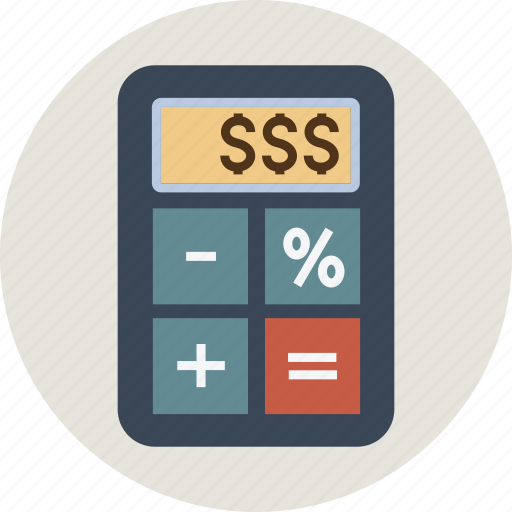 Business Calculation Calculator Currency Device Dollar Euro Finance Money Pound Yen Icon