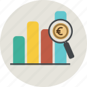 bar, business, euro, finance, frame, graph, graphic, graphicdiagram, money, percent, report, statistic icon