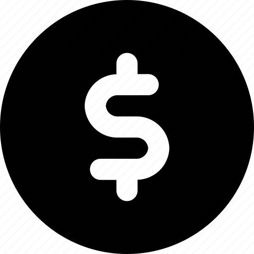 circle, money icon