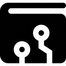 crypto, wallet icon