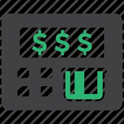 atm, card, money icon