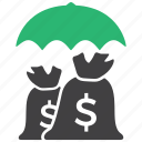 earnings, finance, income, payment icon
