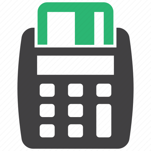 point of service, pos, shopping icon