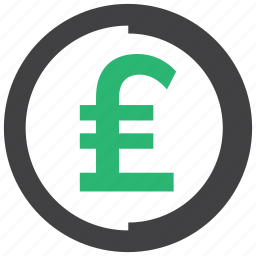 currency, money, pound icon