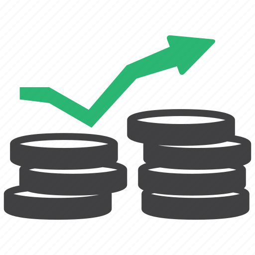 interest, profit, revenue icon