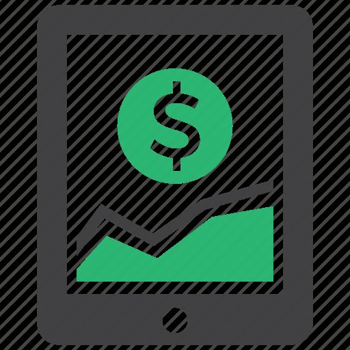 growth, profit, revenue, sales icon