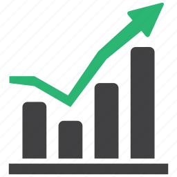 chart, finance, growth, sales icon