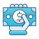currency, finance, payment, shopping icon