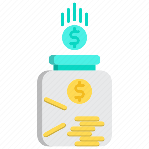 banking, currency, financial, fund, savings icon