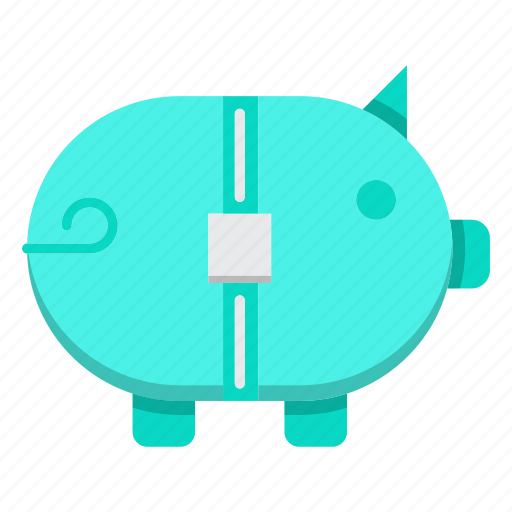 austerity, bank, banking, finance, money, piggy icon