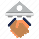 banking, contract, deal, loan, mortgage, payment icon