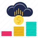 banking, currency, finance, making, money icon