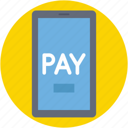 banking app, mobile, online money, online pay, online payment icon