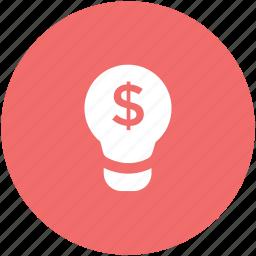 bulb, business idea, concept, creative mind, idea icon