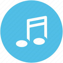 audio, music note, note, quavers, songs icon