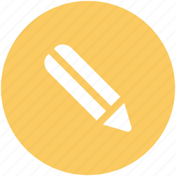 compose, edit, lead pencil, pencil, stationery, write icon