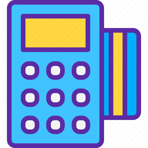 finance, market, marketing, of, point, sales, service icon