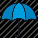 cover, financial, insurance, protection, umbrella icon