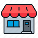 business, retail, shop, small, store icon