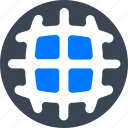 earth, global, internet, network icon