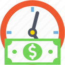 clock, investment, investment time, opportunity, timer icon