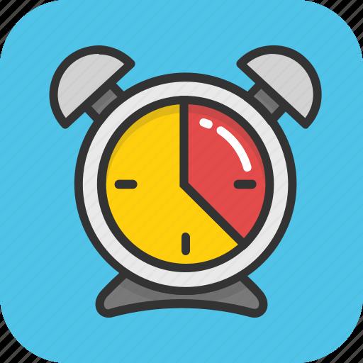 alarm, clock, deadline, schedule, timepiece icon
