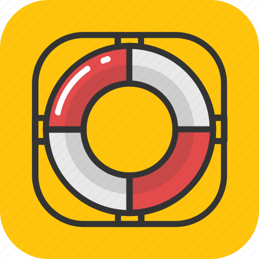 help, life belt, life ring, sailing, support icon
