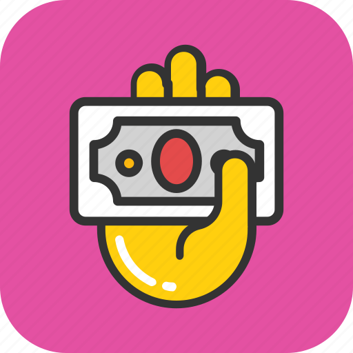 banknote, dollar, finance, loan, payment icon