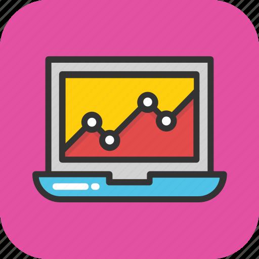 analysis, analytics, graph, online graph, statistics icon