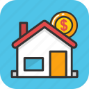 architecture, bank, bank building, building, mortgage icon