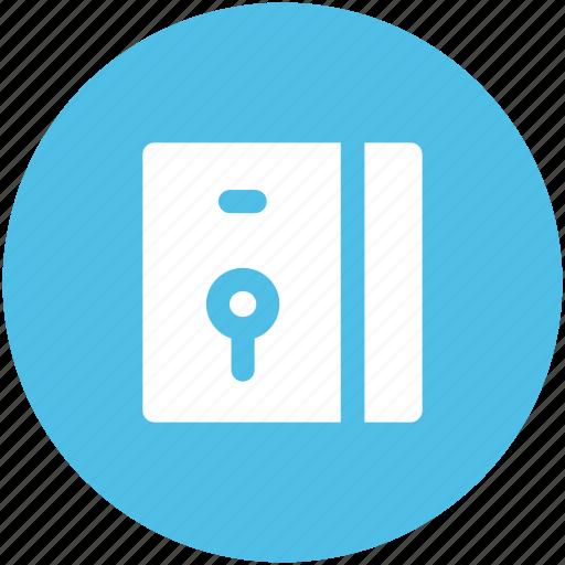 bank locker, cash safe, locker, money box, money safety icon