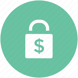 cash safety, lock, money lock, padlock, privacy, security icon