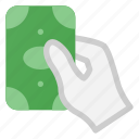 purchase, cash, payment, pay, hand icon