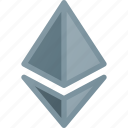 cripto, cryptocurrency, curenmcy, digital currency, ethereum icon