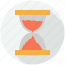 clock, control, finance and business, hourglass, hourglasses, sand, time, tool, tools, tools and utensils icon